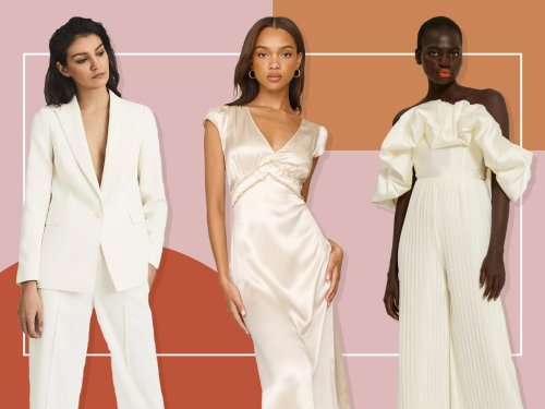 Having an intimate wedding? Here's your outfit inspiration