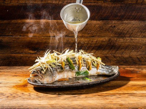 If you've never cooked whole fish, this sizzling Cantonese recipe is for you