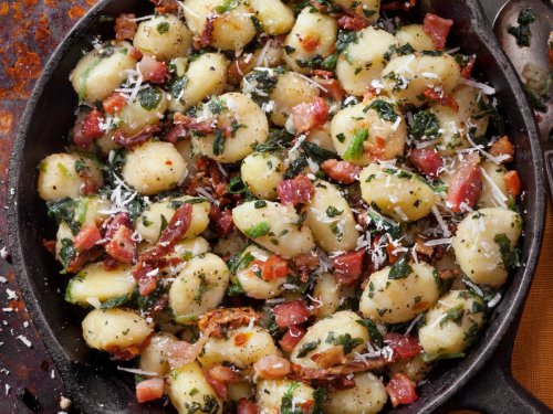 Pan-fried gnocchi, smashed chicken burgers and three other recipes to cook this week