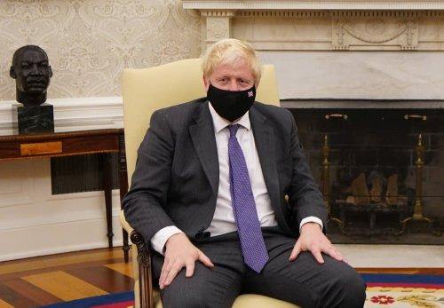 Boris Johnson tells Emmanuel Macron to 'get a grip' and 'donnez-moi un break'