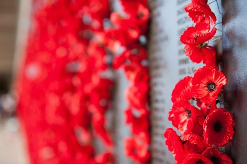 When is Remembrance Day 2021 and what do the red poppies symbolise?