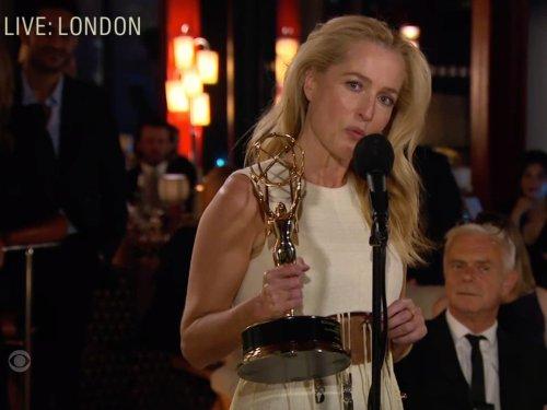 Gillian Anderson deserves second Emmy for handling bizarre Margaret Thatcher question