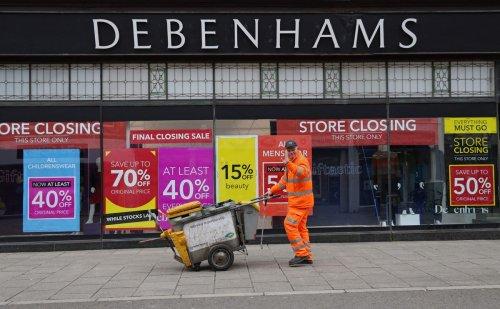 Emotional scenes as last Debenhams stores close