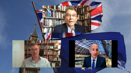 Andrew Adonis declares 'Brexit settlement unstable' during virtual event