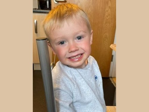 Boy, 3, dies after being run over by tractor as he played with sister outside home