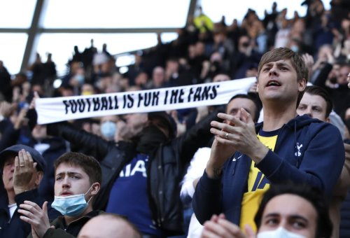 Tottenham fans survey shows 94 per cent unhappy with club's performance