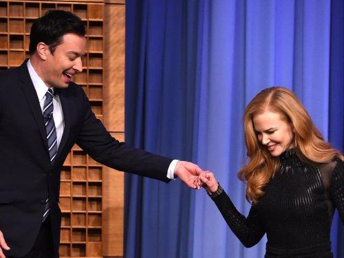 Jimmy Fallon and Nicole Kidman are still awkward after their near-dating miss