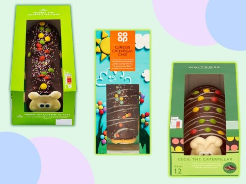 Cuthbert to Cecil: All the supermarket caterpillar cakes you didn't know about