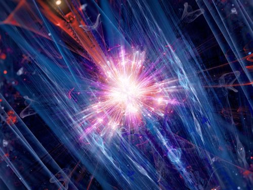 Scientists shocked as particle transforms from matter to antimatter