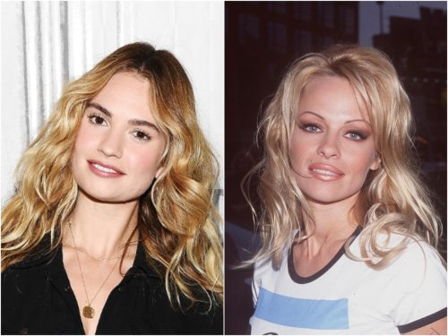 Lily James is unrecognisable as Pamela Anderson in first photo from new TV show