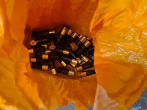 Shotgun cartridges 'found hidden in communal stairwell ceiling' in Battersea