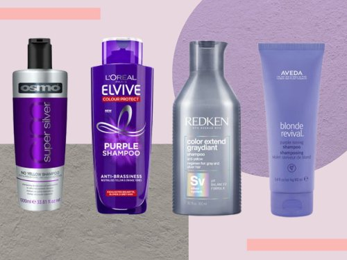 Neutralise pesky yellow tones with these top shampoos for grey hair
