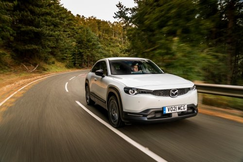 Car review: A funky electric newcomer, but 'range anxiety' may pull the plug on the Mazda MX-30