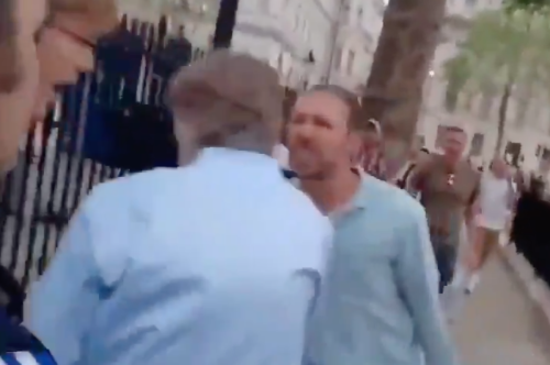 Johnson condemns 'disgraceful' chasing of BBC reporter by anti-lockdown protesters
