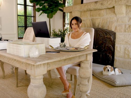 Meghan Markle shares glimpse into home office in new birthday video