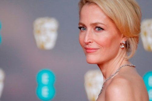 Thank you, Gillian Anderson, for releasing us from the scourge of bras | Nicky Clark