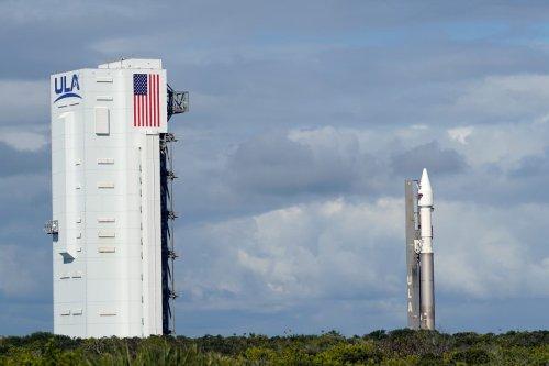 Nasa sends Lucy probe on 12-year mission to explore asteroids around Jupiter