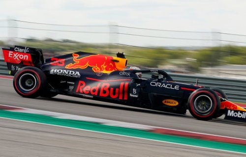 Max Verstappen beats Lewis Hamilton to pole position at the United States GP