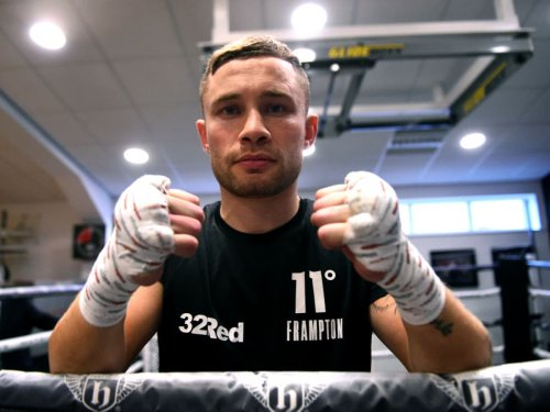 Carl Frampton sets sights on becoming first Irish three-weight world champion