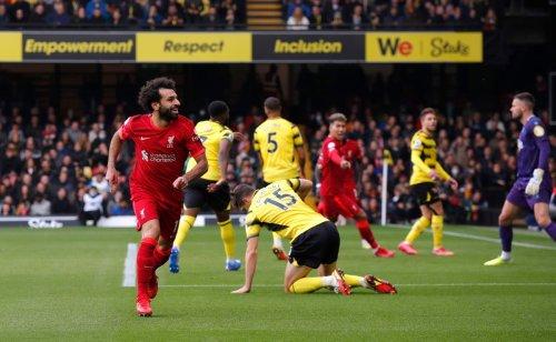Mohamed Salah hits wonder goal as five-star Liverpool demolish Watford