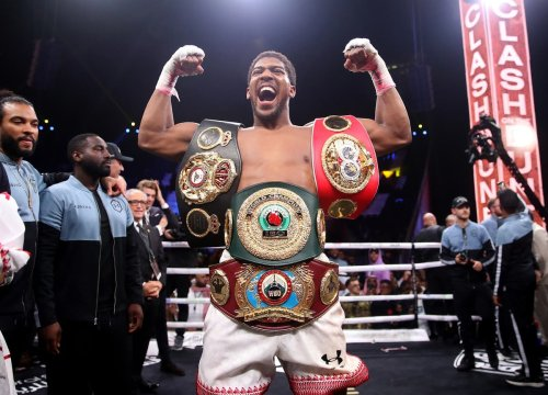 Anthony Joshua: From London 2012 Olympic gold medalist to world heavyweight champion
