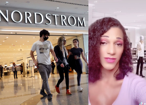 Woman says department store worker refused to serve her because she was trans