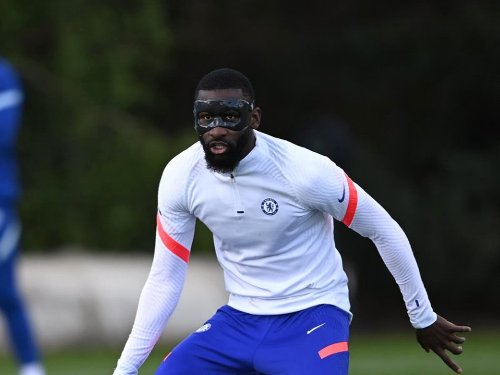 Why is Antonio Rudiger wearing a mask vs Real Madrid tonight?
