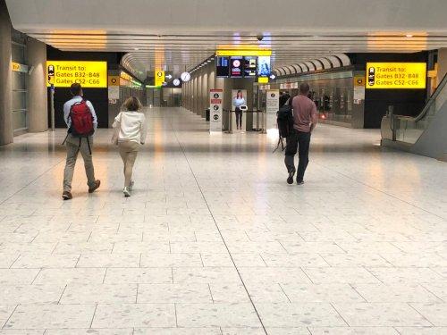 UK airports tumble in European league table