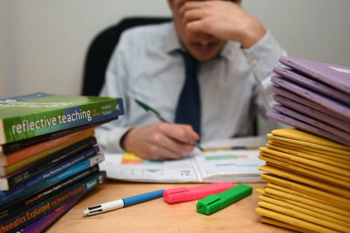 One in five teachers in more affluent areas say parents have pressured them over exam grades, survey shows