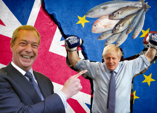 All the terrible things that have happened due to Brexit, that Brexiteers promised wouldn't happen