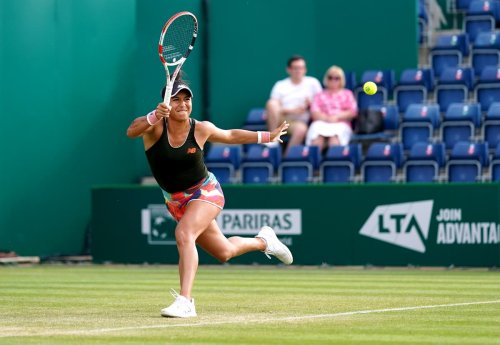 Heather Watson inspired by Andy Murray as she makes quarter-finals in Birmingham