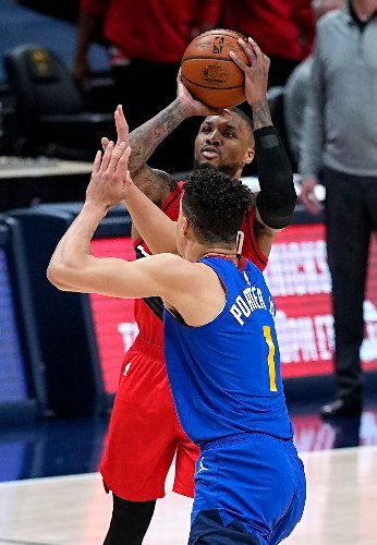 Damian Lillard rescues Portland Trail Blazers twice but Denver Nuggets prevail