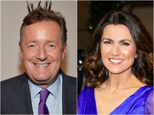 Piers Morgan's wife Celia Walden addresses claims she was 'jealous' of Susanna Reid