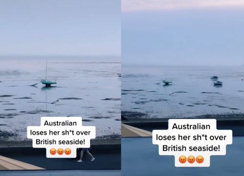 Australian woman tries to criticise British beaches and immediately regrets it