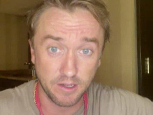 Tom Felton speaks out after collapsing at celebrity golf match