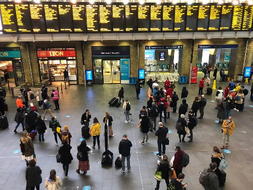 Rail chaos as dozens of services cancelled after cracks found in trains