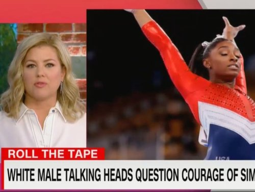 Piers Morgan mocked by CNN host after criticising Simone Biles