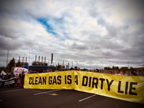 150 protesters demand shutdown of huge chemical plant in Scotland