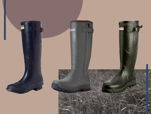 10 best men's wellies for muddy walks