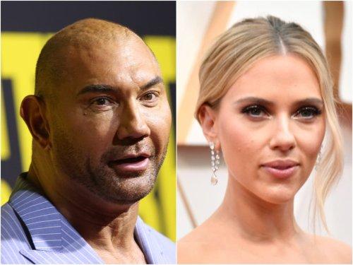 Dave Bautista divides fans with post about Scarlett Johansson's lawsuit against Disney