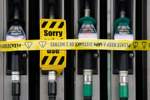 Stop panic-buying petrol and only fill up 'when you really need it', Johnson says