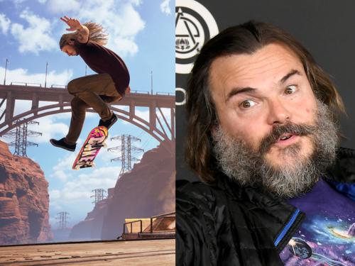 Tony Hawk's Pro Skater 1 + 2 leak reveals Jack Black as playable villain