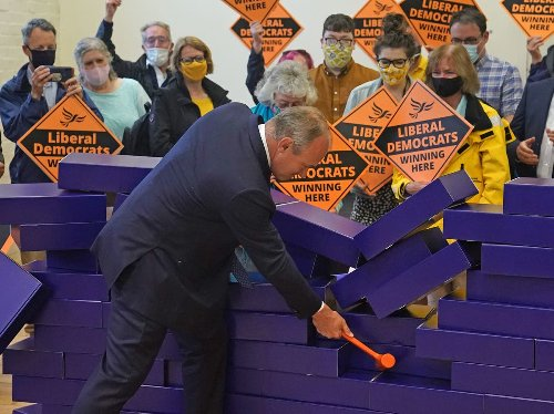 Lib Dems claim shock win in by-election - follow live