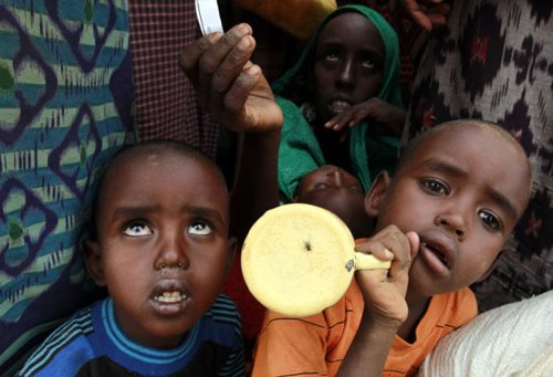 We can help end world hunger – there is no time to waste | Mo Farah