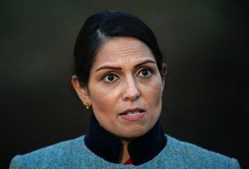 Priti Patel says fans have right to boo England team for taking the knee