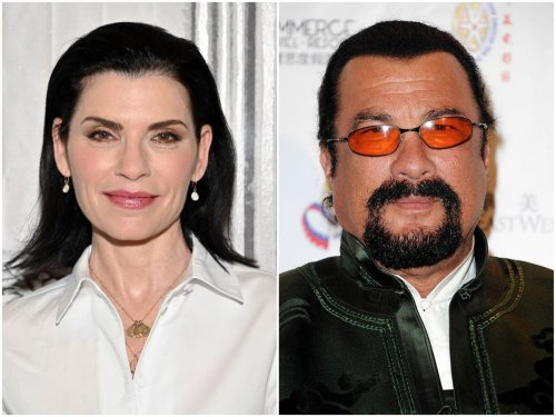 Julianna Margulies alleges 'frightening' hotel room encounter with Steven Seagal