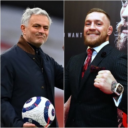 Mourinho meets McGregor, while Phillips was on TV – Saturday's sporting social