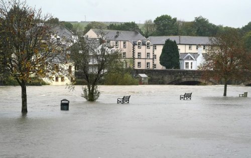 Flooding hits railway lines in Scotland and Cumbria after torrential rain