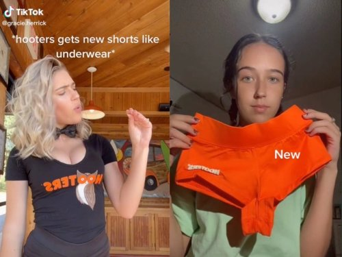 Hooters employees condemn company's new uniform