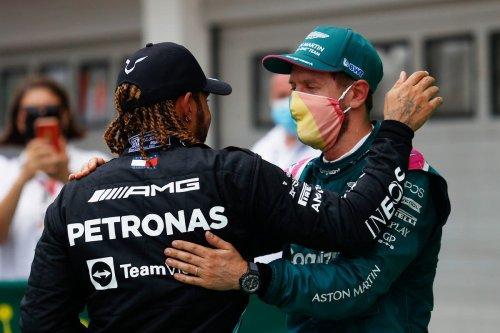 Lewis Hamilton 'incredibly proud' of Sebastian Vettel and hints at future partnership